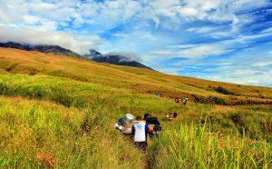 Jour 2: Sembalun Lawang - Plawangan Sembalun Crater Rim (2639m)